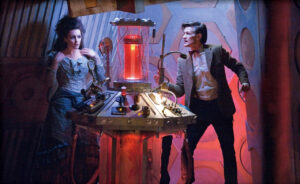 Suranne Jones and Matt Smith in Doctor Who (2005)<br /> Titles: Doctor Who, The Doctor's Wife<br /> People: Suranne Jones, Matt Smith<br />